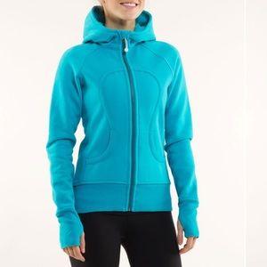 Lululemon• Scuba hoodie in tiffany blue